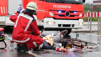 Erste Hilfe im Feuerwehreinsatz